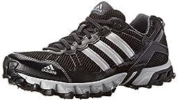 adidas Performance Men\'s Thrasher 1.1 M Trail Running Shoe, Core Black/Metallic/Silver/Light Onix, 8.5 M US