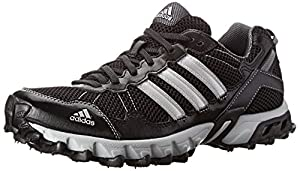 adidas Performance Men's Thrasher 1.1 M Trail Running Shoe, Core Black/Metallic/Silver/Light Onix, 7 M US