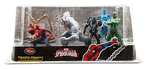 Disney Store Marvel Ultimate Spider-Man Figure Play Set