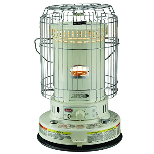 Dyna-Glo RMC-95C6 Indoor Kerosene Convection Heater, 23000 BTU, Ivory (Dynaglow Kerosene compare prices)