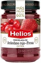 Helios Mermelada Extra Arándano Rojo-Fresa - 340 gr
