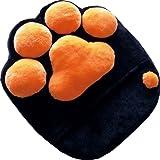 肉球 大きなクッション 極上のさらさら触感☆ 【ニャン手クッション】 [クッション 背もたれ にくきゅう 猫 ネコ グッズ]
