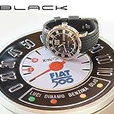 Orologio Fiat 500 - cinturino nero