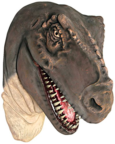 Design Toscano Grand-Scale Tyrannosaurus Rex Dinosaur Wall Trophy Sculpture