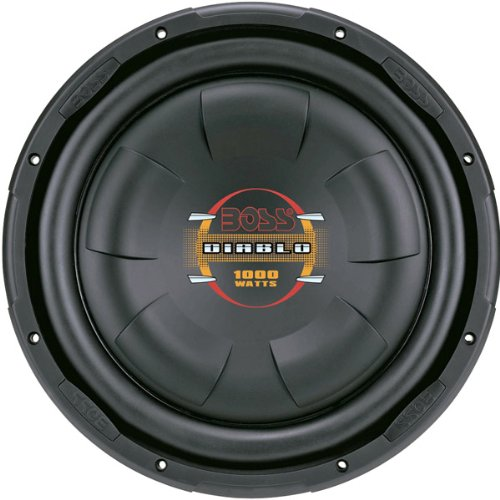 "12"" Low Profile Subwoofer, Poly Injection Cone, 4-Ohm Voice Coil"