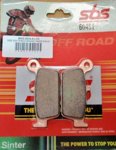 SBS OFF ROAD SINTERED BRAKE PADS SBS604SI