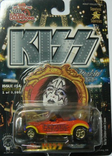 Racing Champions Kiss Car Issue #14 Limited Edition Psycho Circus