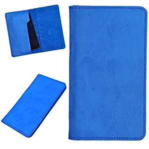 DCR Pu Leather case cover for Nokia Lumia 521 (sky blue)