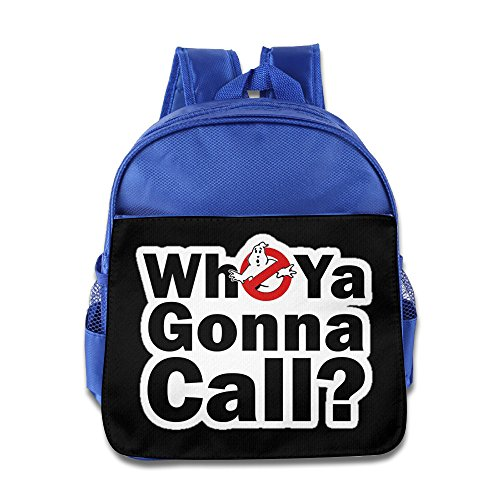 [Boys Girls Toddler Ghostbusters Logo Who You Gonna Call Backpack / School Bag] (Cute Slimer Costumes)