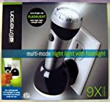 Emerson Rechargeable Multi-Mode Night Light with Flashlight