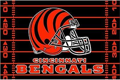 "The Northwest Company Northwest NFL Cincinnati Bengals 39""X59"" Rugs"