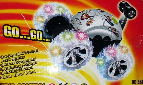 For Sale Beetle Lunar Rc Stunt Car W/Clear Flash Wheel
