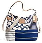 Coach Limited Edition Daisy Patchwork Convertiable Hobo 23963