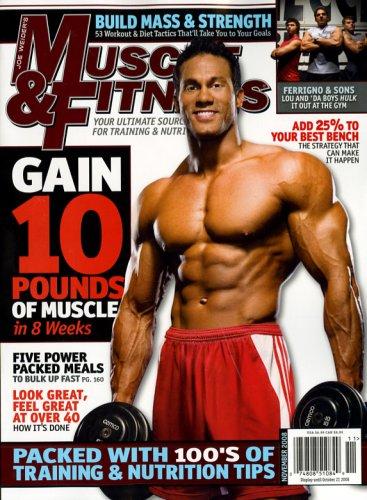 Muscle & Fitness [US] Nov 08 (単号)
