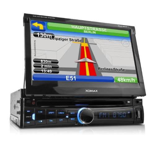 xomax xm dtsbn911 autoradio mit navigation gps navi inkl