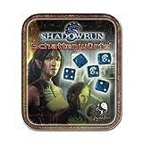 """Pegasus 134100 - W�rfelset: Shadowrun limited Edition Metalldosevon """"Pegasus Spiele"""""""
