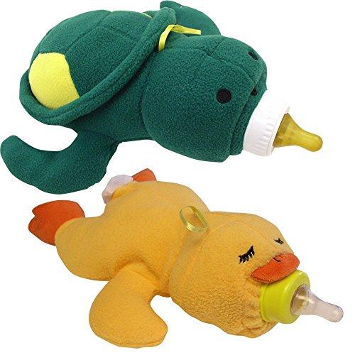 Baby Bottle Huggers - Duck & Turtle Set of 2