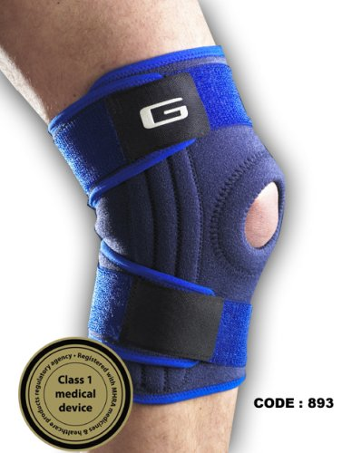 Neo G MEDICAL GRADE STABILISED OPEN KNEE with PATELLA SUPPORT- THE ULTIMATE SKIERS SUPPORT (Lots of Support & Bounce)