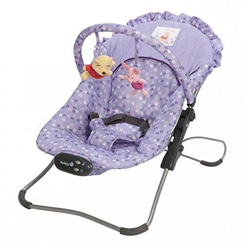 Disney Winnie the Pooh Snug Fit Bouncer Seat Purple