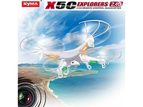 Syma X5C Explorers 6 Axis 2.4G 4CH RC Quadcopter Helicopter With Camera