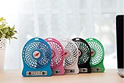 Life Like F95B USB FAN RECHARGEABLE 3 IN 1 SPEED ADJUSTABLE WITH TORCH