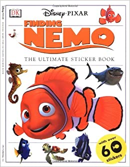 Finding Nemo Sticker Book: DK Publishing: 0635517092455
