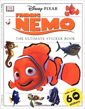Finding Nemo Sticker Book written by DK Publishing
