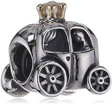 Pandora 790598P - Abalorio de mujer de plata de ley, 1 cm