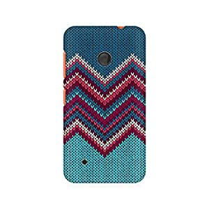 Mobicture Knit Print Printed Phone Case for Nokia Lumia 530