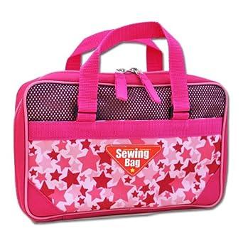 裁縫バッグ スタンダードピンク