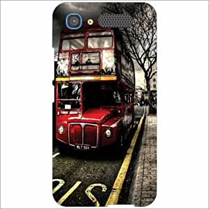 Intex Aqua Y2 Pro - Silicon Bus Phone Cover