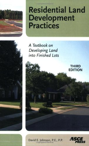 Residential Land Development Practices: A Textbook on...