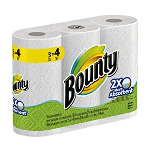 Bounty Paper Towels 24 Big Rolls (8 Packs of 3)