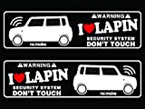 ラパン HE22S系 リメイクラブセキュリティステッカー