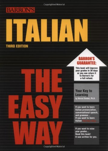 Italian the Easy Way (Barron's E-Z)