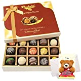 Yum Choco Bliss Truffles Collection With Sorry Card - Chocholik Belgium Chocolates