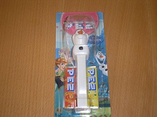 disneys-frozen-olaf-pez-dispenser-mit-zwei-minen-einzeln-verkauft