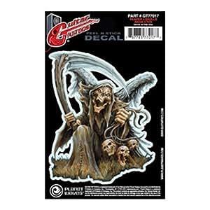 Amazon.com: Tatuaje de la guitarra, Reaper 3 Skulls: Musical