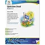 Adams Quitclaim Deed Forms and Instructions, 8.5 x 11 Inch, White (LF298) Model: SOMLF298 Office Supply Product Store