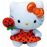 Ty Hello Kitty - Orange Halloween Dress