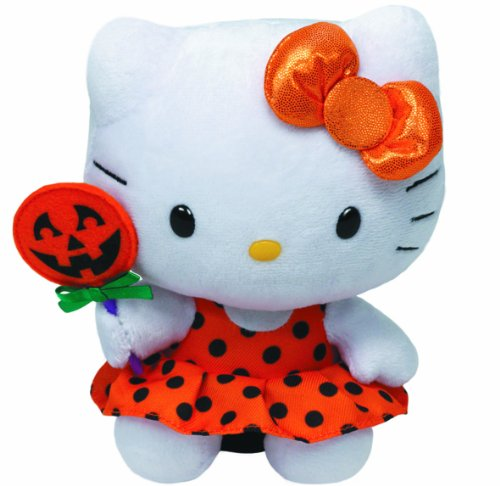 Ty-Hello-Kitty-Orange-Halloween-Dress