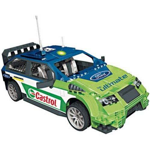 ProBuilder WRC Ford Focus Rally Car