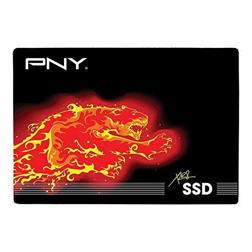 PNY XLR8 480GB CS2111 Internal 2.5 inch SATA III Solid State Drive with 560 MB/s read speed (SSD7CS2111-480-RB)