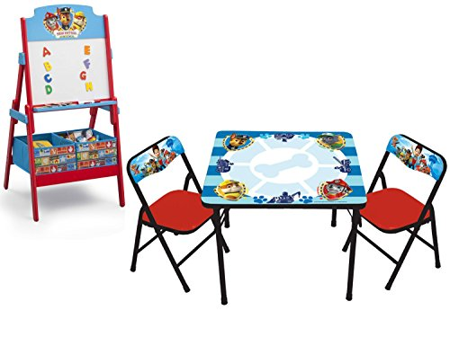 New Paw Patrol Erasable Activity Table Set And Delta