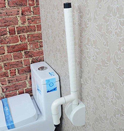 CU -Bagno elegante minimalista accessibilità pieghevole braccioli anziani disabilitati rotaie di sicurezza bagno white