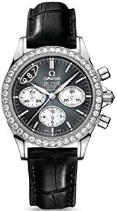 NEW OMEGA DeVILLE CHRONOGRAPH LADIES WATCH 422.18.35.50.06.001