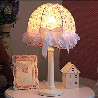 room table lamp romantic princess room table lamp girl 39 s room table. Black Bedroom Furniture Sets. Home Design Ideas