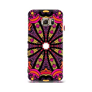 Mobicture Premium Printed Back Case Cover With Full protection For Sasmung Galaxy S6