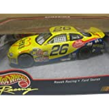 1999 Hot Wheels Racing - #26 Cheerios - Roush Racing - Ford Taurus - 1:43 Scale Die-cast NASCAR Coll