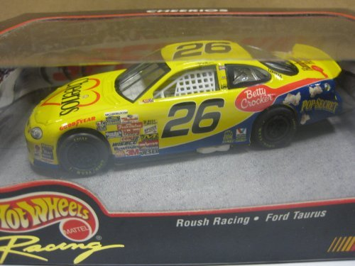 1999-hot-wheels-racing-26-cheerios-roush-racing-ford-taurus-143-scale-die-cast-nascar-collectible-by